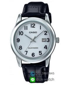 นาฬิกาผู้ชาย Casio Solar Power รุ่น MTP-VS01L-7B1 ของใหม่ ของแท้