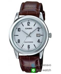 นาฬิกาผู้ชาย Casio Solar Power รุ่น MTP-VS01L-7B2 ของใหม่ ของแท้