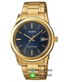 นาฬิกาผู้ชาย Casio Solar Power รุ่น MTP-VS01G-2A ของใหม่ ของแท้