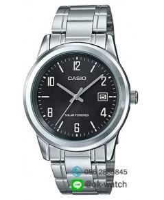 นาฬิกาผู้ชาย Casio Solar Power รุ่น MTP-VS01D-1A ของใหม่ ของแท้