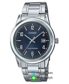 นาฬิกาผู้ชาย Casio Solar Power รุ่น MTP-VS01D-2A ของใหม่ ของแท้