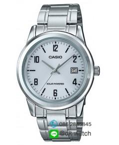 นาฬิกาผู้ชาย Casio Solar Power รุ่น MTP-VS01D-7A ของใหม่ ของแท้
