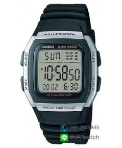 นาฬิกา Casio standard 10 Year Battery รุ่น W-96H-1AV ของใหม่ ของแท้