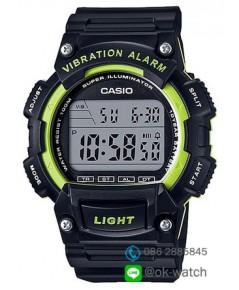 นาฬิกา Casio standard 10 Year Battery รุ่น W-736H-3AV ของใหม่ ของแท้