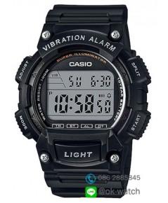 นาฬิกา Casio standard 10 Year Battery รุ่น W-736H-1AV ของใหม่ ของแท้