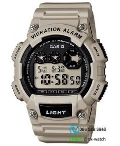 นาฬิกาผู้ชาย Casio 10 Year Battery รุ่น W-735H-8A2V ของใหม่ ของแท้