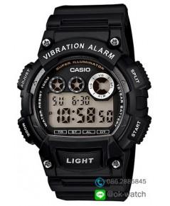นาฬิกาผู้ชาย Casio 10 Year Battery รุ่น W-735H-1AV ของใหม่ ของแท้