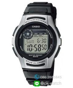 นาฬิกาผู้ชาย Casio 10 Year Battery รุ่น W-213-1AV ของใหม่ ของแท้