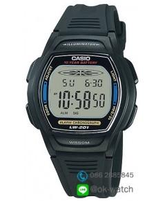 นาฬิกาผู้ชาย Casio 10 Year Battery รุ่น LW-201-2AV ของใหม่ ของแท้