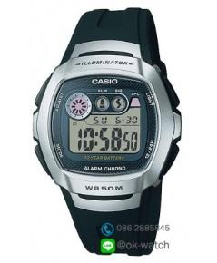 นาฬิกาผู้ชาย Casio 10 Year Battery รุ่น W-210-1AV ของใหม่ ของแท้