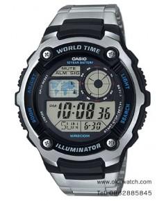 นาฬิกาผู้ชาย Casio standard รุ่น AE-2100WD-1A ของใหม่ ของแท้