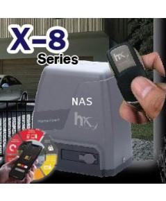 ประตูรีโมทอัจฉริยะ X-8 Series ควบคุมประตูรั้วด้วย Smart Phone