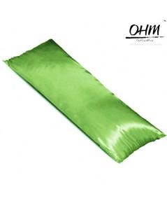 ปลอกหมอนบอดี้ ผ้าซาตินแท้ 440 เส้น ขนาด 20x48 นิ้ว เบอร์ 84 สีเขียวมะนาว
