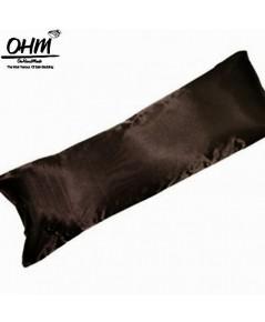 ปลอกหมอนข้างบอดี้ ผ้าซาตินแท้ 440 เส้น ขนาด 14x44 นิ้ว เบอร์ 67 สีน้ำตาลช็อคโกแลตเข้ม