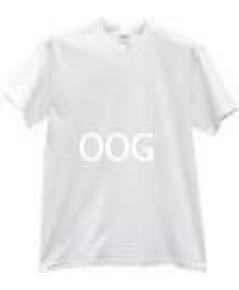 เสื้อ T-Shirt สีขาว 2 เนื้อ ขนาดเด็ก