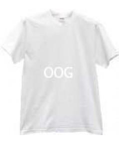 เสื้อ T-Shirt เนื้อผ้าโพลีเอสเตอร์ TK สีขาว ผ้าหนา