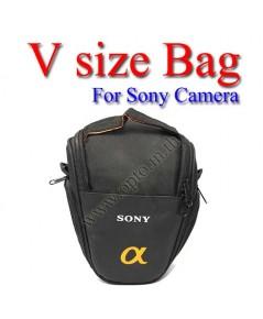 V-shape Size Bag For Sony Alpha Nex3 Nex5 Nex7 A33 A55 A700 A900