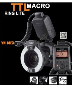 YN-14EX TTL Macro Ring flash for Canon ริงแฟลชแบบออโต้