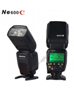 Ne600C Flash Speedlight for Canon E TTL II GN60 (Hi Speed Sync) แฟลชหัวค้อนแคนน่อน