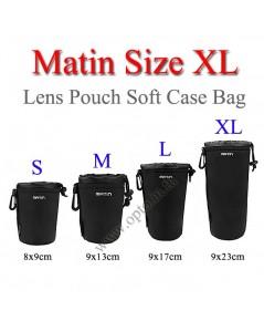 Size XL Matin Lens Pouch Soft Case กระเป๋าใส่เลนส์แบบซอฟ์ทเคส กว้าง9*สูง23cm