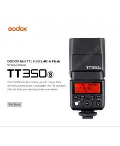 TT350s Flash Godox For Sony A7 A7II A6000 A6300 TTL HSS Wireless Trigger 2.4Ghz Flash แฟลชหัวค้อน