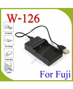 USB BC-W126 Battery Charger แท่นชาร์จสำหรับแบตเตอรี่ฟูจิ FujiFlim NP-W126