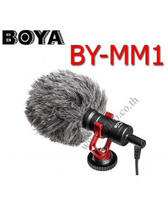 BY-MM1 Boya Super-Cardioid Microphone For DSLR Camera DV Camcorder ไมค์หัวกล้องสำหรับกล้องDSLR