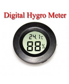 Circle Digital Hygrometer And Thermometer for Dry Cabinet เครื่องวัดความชื้น
