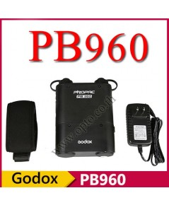 PB960 Battery Pack Godox ProPac + 4500mAh External Battery Pack + Charger For AD360 AD360II