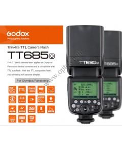 TT685O Godox Flash Speedlight for Olympus Panasonic TTL (Built in Wireless TTL) แฟลชหัวค้อนโอลิมปัส