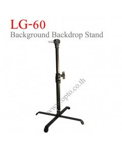 LG-60 Mini Light Stand for Background Backdrop Flash Studio (H/60cm.) ขาตั้งไฟสตูดิโอสำหรับส่องฉาก