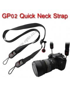 GP02 Joint Quick Neck Strap Sling for DSLR Mirrorless สายคล้องคอสำหรับกล้องแบบมีคลิ๊ปล็อคถอดสายได้