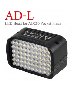AD-L GODOX 60PCS LED Continuous Light Head For WITSTRO AD200 ไฟแอลอีดีโกดอก