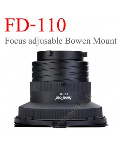 FD-110 Focus Adjustable Light, Barndoor, Honey Comb with Bowens Mount