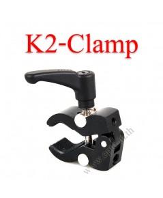 K2-Clamp metal Clamp Portable Use for size 40mm ขาจับยึดกับวัตถุไม่เกิน4cm