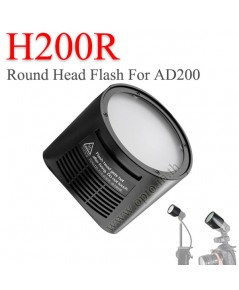 H200R Godox Round Flash Head for Godox AD200 หัวแฟลชแบบกลมสำหรับAD200