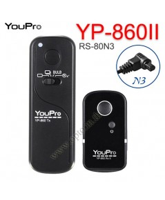 YP-860II YouPro RS-80N3 Wire/Wireless Remote 2.4GHz For Canon 1D 7D 6DII 5DIII 5DIV รีโมทไร้สาย