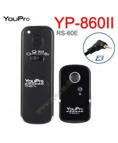 YP-860II YouPro RS-60E3 Wire/Wireless Remote 2.4GHz For Canon M6 M5 800D 760D 80D 77D  รีโมทไร้สาย