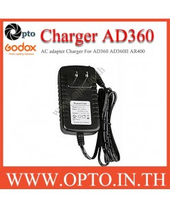 Charger AC Adapter for Godox AD360 AD360II AR400 ที่ชาร์ตสำหรับแฟลชโกดอก