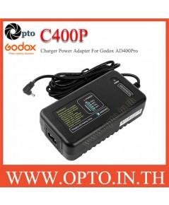 C400P Charger AC Adapter for Godox AD400Pro WB4000P ที่ชาร์ตสำหรับแฟลชโกดอก