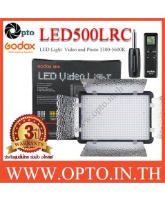 LED500LRC Godox  3300K-5600K LED Video Light for Camera ไฟต่อเนื่องสำหรับถ่ายภาพและวีดีโอ LED500