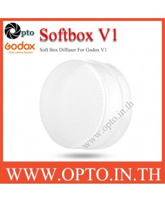 Soft Box Diffuser For Godox V1 ซอฟท์บ๊อกซ์พลาสติกสำหรับแฟลชV1