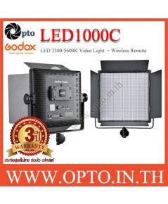 LED1000C Godox  3300K-5600K LED Video Light for Camera ไฟต่อเนื่องสำหรับถ่ายภาพและวีดีโอ LED1000