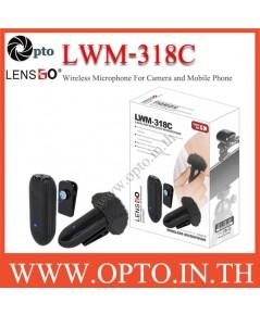 LWM-318C Wireless LensGo Microphone for DSLR Cameras Smartphones ไมค์ไร้สายสำหรับกล้องและมือถือ