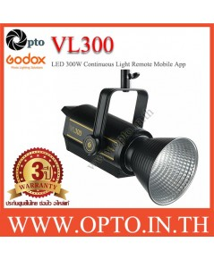 VL300 Godox Continuous light LED Sport Light 300W with Mobile App Control ไฟต่อเนื่อง