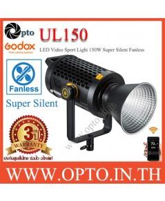 UL150 Godox 5600K Sport Light Super Silent Fanless ไฟLEDสปอร์ตไลท์ไฟต่อเนื่องไม่มีพัดลม