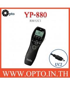 YP-880 YouPro RM-UC1 wired Timer Remote Switch For Olympus OM-D EM1 EM5 EM10 E-PL8 รีโมทตั้งเวลา