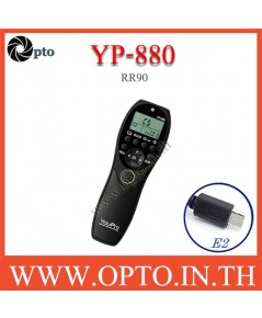 YP-880 YouPro RR-90 wired Timer Remote Switch For Fuji X-E3 T100 T20 T2 X-A5 A3 รีโมทตั้งเวลา