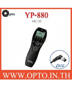 YP-880 YouPro MC-30 wired Timer Remote Switch For Nikon D810 D800 D700 D300 รีโมทตั้งเวลา