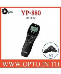 YP-880 YouPro RS-80N3 wired Timer Remote Switch For Canon 1D 7D 6DII 5DIII 5DIV รีโมทตั้งเวลา